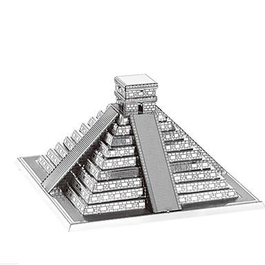 levne 3D puzzle-3D puzzle Puzzle Kovové puzzle Věž Slavné stavby Eiffelova věž Kovový Žehlička Hliník Dětské Dospělé Unisex Chlapecké Dívčí Hračky Dárek