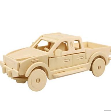 levne 3D puzzle-3D puzzle Puzzle Dřevěný model Auto Udělej si sám Dřevěný Přírodní dřevo Unisex Hračky Dárek
