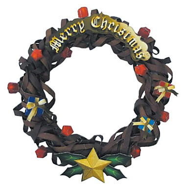 levne 3D puzzle-3D puzzle Papírové modely Modele Vánoce Kytky Udělej si sám Klasické Unisex Hračky Dárek