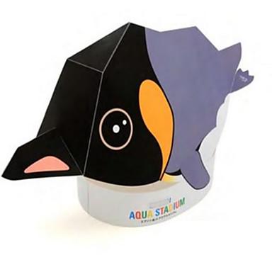 levne 3D puzzle-Halloweenské masky Papírové modely Modele Výroba z papíru lepenkový papír Klasické Udělej si sám Tučňák Jídlo a nápoje Dětské Unisex