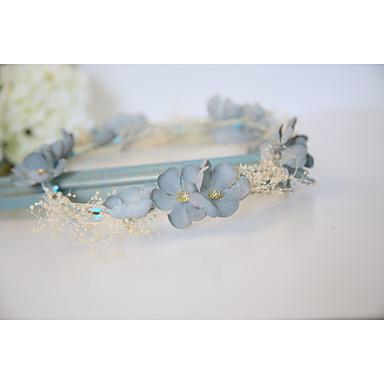 povoljno Party pokrivala za glavu-Pamuk Trake za kosu / Cvijeće s 1 Vjenčanje / Special Occasion / godišnjica Glava