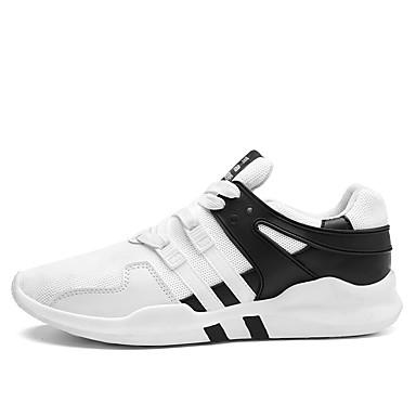 5a007ed1573 Ανδρικά Παπούτσια Τούλι Άνοιξη / Φθινόπωρο Ανατομικό Αθλητικά Παπούτσια  Περπάτημα Μαύρο / Μαύρο / Άσπρο /