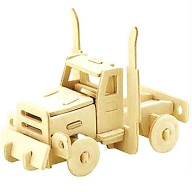 levne 3D puzzle-3D puzzle Puzzle Modele Auto Zvířata Udělej si sám Dřevěný Přírodní dřevo Dětské Unisex Hračky Dárek