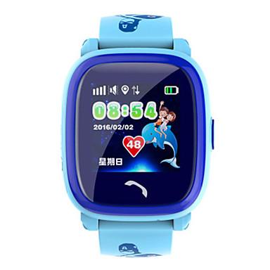 levne Pánské-Pánské Inteligentní hodinky Digitální Silikon Modrá / Fialová Digitální Fialová Modrá