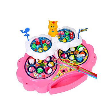 preiswerte Spielsachen zum Fischen-Magnetspielsachen Angeln Spielzeug Bildungsspielsachen Fische Magnetisch Kunststoff Kinder Spielzeuge Geschenk 1 pcs
