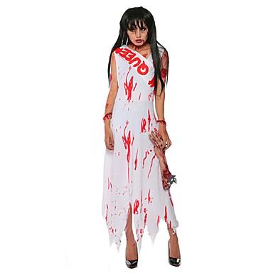 Ghost   Vampyr   Cosplay Cosplay Kostymer   Dräkter   Maskerad Dam  Halloween   Karnival Festival   högtid Halloweenkostymer Andra   Vintage  6115783 2019 – ... ec17e698a123b