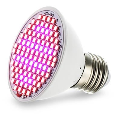 preiswerte LED-Lichter-4,5 w e27 led wachsen lichter 106 smd 3528 800-850lm rot blau ac85-265 v 1 stück