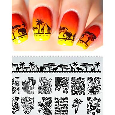 cheap Nail Stamping-1-pc-mandala-prego-stamping-template-flores-folha-carimbar-a-placa-imagem-do-selo-chapa-da-pena-do-pavo-selo-da-arte-do-prego-ferramentas