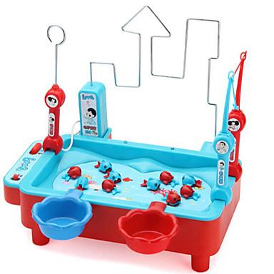 preiswerte Spielsachen zum Fischen-Magnetspielsachen Angeln Spielzeug Fische Magnetisch Heimwerken Elektrisch Kunststoff Kinder Spielzeuge Geschenk 1 pcs
