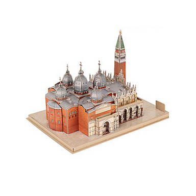 levne 3D puzzle-3D puzzle Modele Slavné stavby EPS+EPU Unisex Hračky Dárek