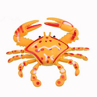 Imitation Solid  Crab rubber Plastic Rubber Toy Display Marine organism DIY
