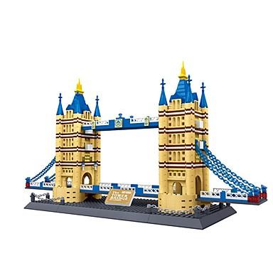 levne 3D puzzle-WAN GE Stavební bloky Modele Slavné stavby londýnský most Fun & Whimsical Chlapecké Dívčí Hračky Dárek