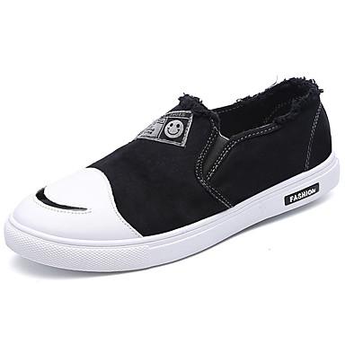 Hombre Zapatos Tela Primavera Suelas con luz Zapatillas de deporte Negro / Beige / Verde 8SC5Sli