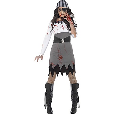 Duch   Pirát   cosplay Cosplay Kostýmy   Maškarní Dámské Halloween    Karneval Festival   Svátek Halloweenské kostýmy Ostatní   Retro 6115794  2019 –  26.99 24bfba2d410