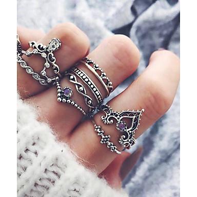 levne Dámské šperky-Dámské Stříbrná Slitina Ruka osudu Neobvyklé Jedinečný design Módní Dar Denní Šperky