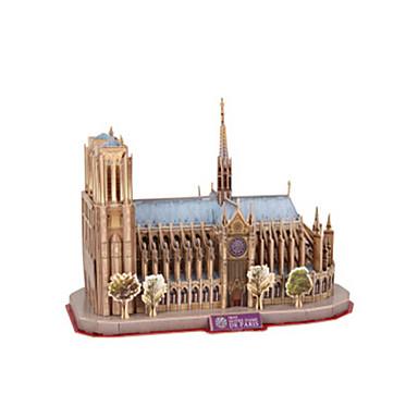 levne 3D puzzle-3D puzzle Modele Slavné stavby Notre Dame de Paris Katedrála EPS+EPU Unisex Hračky Dárek
