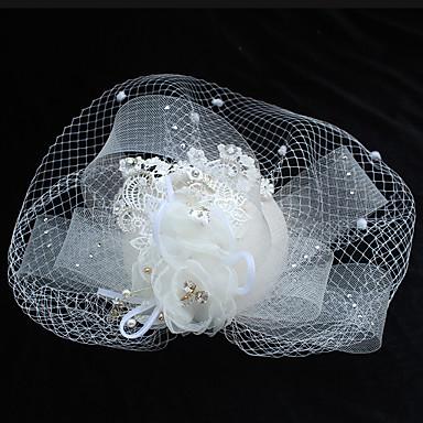 Chiffon Lace Rhinestone Flowers Hair Clip With 1 Wedding Special Occasion Birthday Headpiece 6081392 2018 2299
