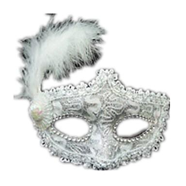 levne Masky-Halloweenské masky Sexy krajková maska Krajka Párty Krajka Jídlo a nápoje Unisex