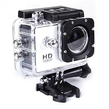 QQT SJ4000 GoPro Υπαίθρια αναψυχή vlogging Για Υπαίθρια Χρήση / Μίνι / Φορητά 32 GB 15fps 8 mp / 6 mp Όχι 1280 x 720 Pixel 2 inch CMOS H.264 Μονή λήψη / Λειτουργία ριπής 30 m ± 2EV