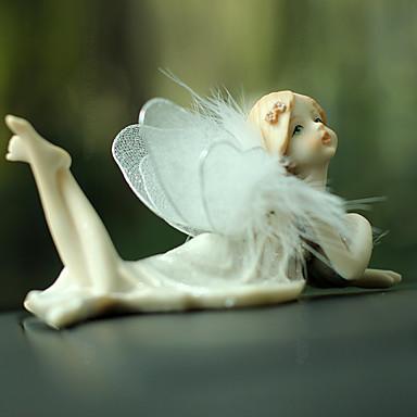 levne Závěsy a ozdoby do auta-Diy automobilové ozdoby květina víla anděl romantický automobilový přívěšek&Ornamenty pryskyřice