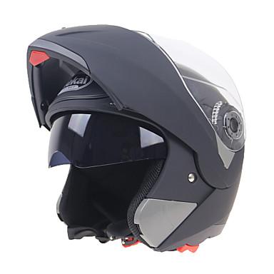 povoljno Motori i quadovi-Otvorena kaciga Odrasli Uniseks Motocikl Kaciga Otporan na udarce / Scratch Resistant / Dual Screen