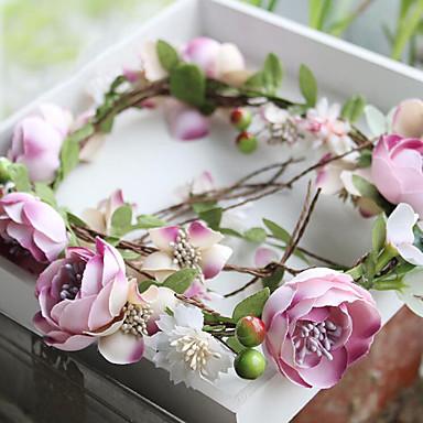 povoljno Party pokrivala za glavu-Til / Šifon / Tekstil Trake za kosu / Cvijeće s 1 Vjenčanje / Special Occasion / Rođendan Glava