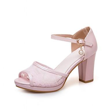 Mujer Zapatos Sintéticos Verano Confort Sandalias Tacón Cuadrado Blanco / Azul / Fiesta y Noche En Ligne Pas Cher Pas Cher Fourniture En Vente Vente Pas Cher Best-seller Acheter Le Meilleur h8GP9lDNZc