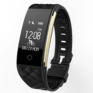 levne Dámské-s2 chytré hodinky bt 4.0 fitness tracker podpora oznámit vodotěsné zakřivené obrazovky sportovní náramek pro Samsung SGH telefony / iPhone telefony a iPhone