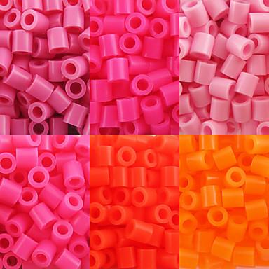 preiswerte DIY Spielzeug-ca. 500 Stück / Beutel 5mm perler Perlen Bügelperlen Hama Perlen EVA-Material safty für Kinder (verschiedene B8-B16)