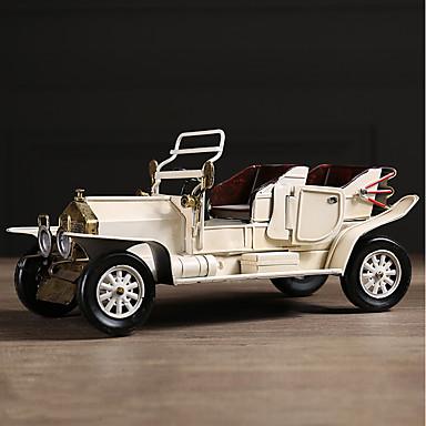 voordelige Auto-interieur accessoires-Diy automotive ornamenten amerikaanse retro creativiteit nostalgische auto huisinrichting auto hanger&Ornamenten metaal