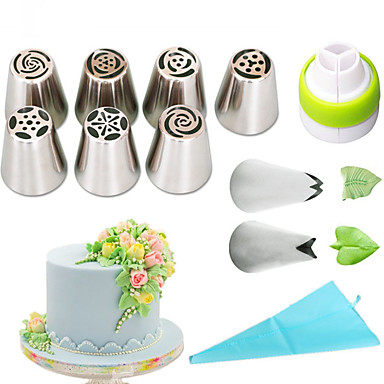 cheap Baking & Pastry Tools-1 set Stainless Steel + A Grade ABS Eco-friendly Everyday Use Cake Molds Bakeware tools
