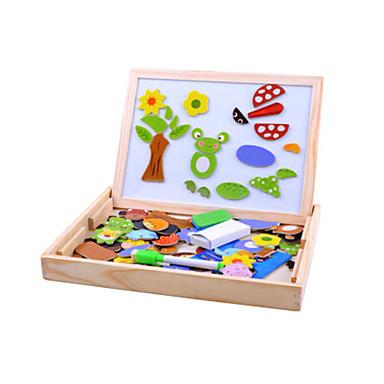voordelige tekening Speeltjes-Tekenspeelgoed Speelgoed tekentablets Legpuzzel Educatief speelgoed Zon Bloem Dieren Magnetisch Unisex Speeltjes Geschenk