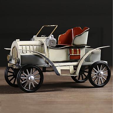 levne Závěsy a ozdoby do auta-Diy automobilový ozdoby americký retro tvořivost nostalgický auto bytové zařízení auto přívěšek&Ornamenty kovové