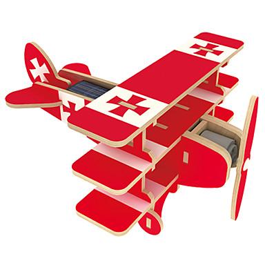 levne 3D puzzle-Hračky na solární pohon 3D puzzle Puzzle Letadlo Solární pohon Udělej si sám Dřevěný Klasické Dětské Chlapecké Dívčí Hračky Dárek