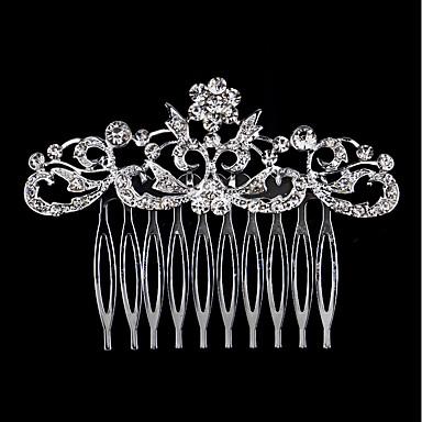 Umjetno drago kamenje / Legura Kose za kosu s 1 Vjenčanje / Special Occasion / Rođendan Glava