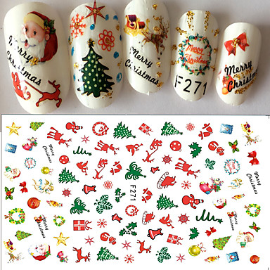 1 Pcs Stickers Tapes Nail Decals Nail Art Design 6129137 2019 1 39