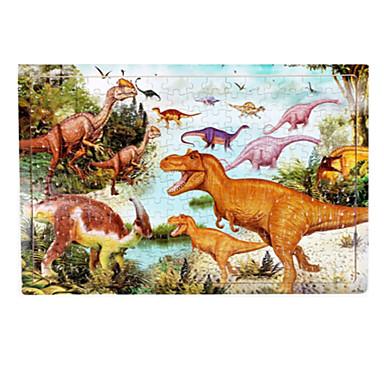 preiswerte Jigsaw Puzzles-Holzpuzzle Bildungsspielsachen Dinosaurier Hölzern Unisex Spielzeuge Geschenk