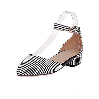Mujer Zapatos Semicuero PU Verano Otoño Confort Innovador Zapatos formales  Tacones Paseo Tacón Bajo Dedo Puntiagudo Hebilla para Boda 6085634 2018 –   34.99 04849bc948aa