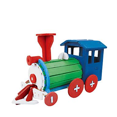 levne 3D puzzle-RUOTAI 3D puzzle Automobily Vlečka Ručně Vyrobeno Dřevěný 1 pcs DIY Dětské Hračky Dárek