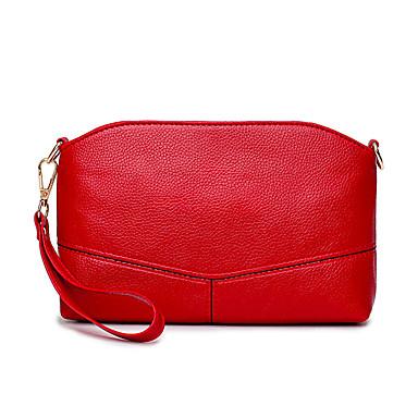 f7d990c7357 Mujer Bolsos Todas las Temporadas PU Bolso de Hombro para Boda Evento Fiesta  Casual Formal Negro Rojo Rosa Válida 6155629 2019 –  14.99