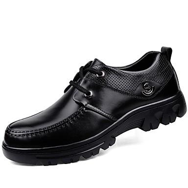 cb9b30bf685 Pánské Obuv Kůže Nappa Leather Jaro Podzim Potápěčské boty Společenské boty  Pohodlné Oxfordské Kotníčkové Šněrování pro Ležérní Kancelář 6179959 2019 –  ...