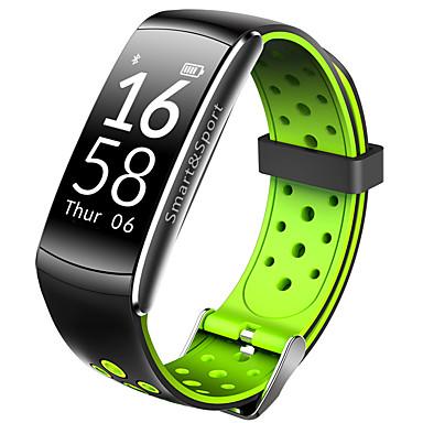 levne Pánské-q6 smart náramek bluetooth fitness sledování podpory oznámení / monitor srdeční frekvence sportovní vodotěsné smartwatch kompatibilní s iphone / samsung / android telefony