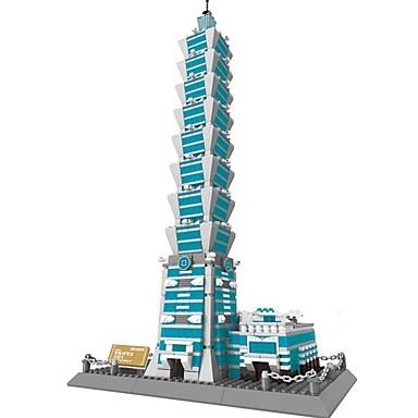 levne 3D puzzle-WANTOY Stavební bloky Modele Slavné stavby Fun & Whimsical Chlapecké Dívčí Hračky Dárek
