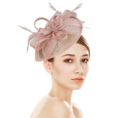 povoljno Party pokrivala za glavu-plastika Fascinators / Cvijeće / Šeširi s Cvjetni print 1pc Vjenčanje / Special Occasion / Zabava / večer Glava