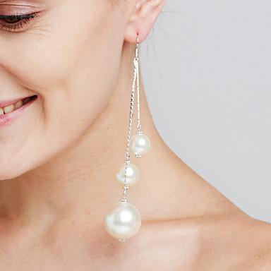 povoljno Modne naušnice-Žene Viseće naušnice Statement Personalized Luksuz Moda Euramerican Film Nakit Naušnice Jewelry Pink Za godišnjica Zabave Dar Formalna večer Spoj Za odmor