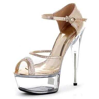 Zapatos de punta abierta formales para mujer LfUEYC