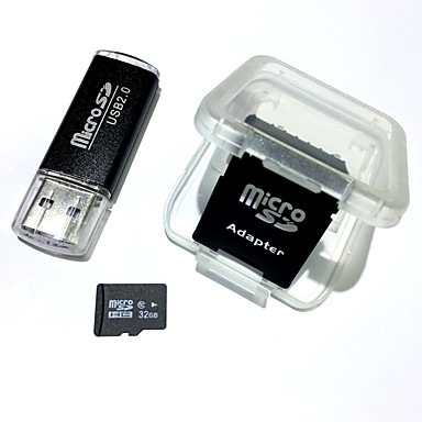cheap DrivesandStorage-Ants 32GB Micro SD Card TF Card Memory Card SD Card Adapter and USB 2.0 Card Reader Class10