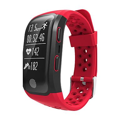 levne Pánské-Pánské Sportovní hodinky Vojenské hodinky Inteligentní hodinky Křemenný Digitální Silikon Vícebarevný Voděodolné Monitor pulsu Alarm Digitální Přívěšky Luxus Klasické Vintage Na běžné nošení - Čern