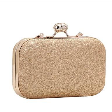 2f844baeb0 Γυναικεία Τσάντες PU Βραδινή τσάντα Γκλίτερ   Αλυσίδα Χρυσό   Μαύρο   Ασημί  6171623 2019 –  19.99