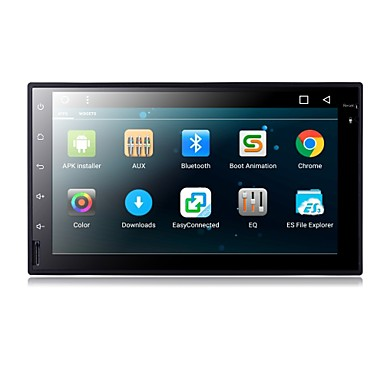 billige Bil Elektronikk-TH8021GNC 7 tommers 2 Din Android6.0 DAB til Universell Brukerstøtte / MPEG4 / mp3 / jpeg / mp4 / MOV